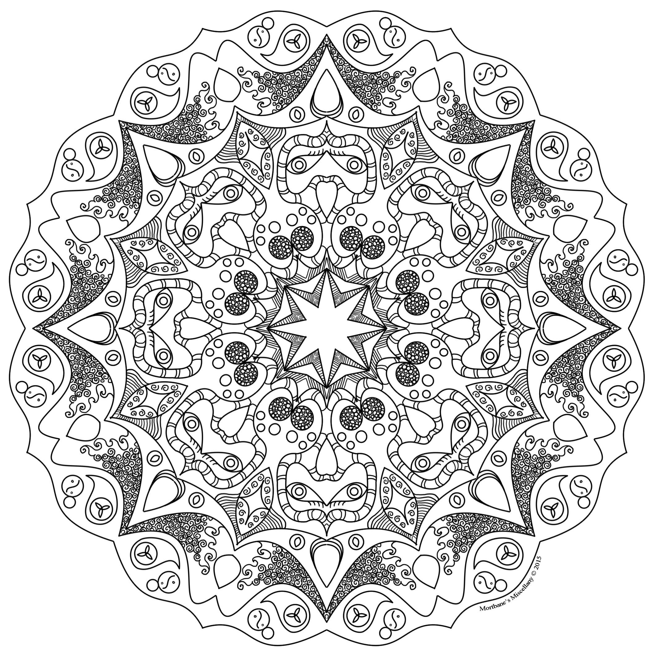 abstract coloring pages with words | Free Coloring Pages – Late 2 Bloom